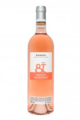 bouteille bandol rosé