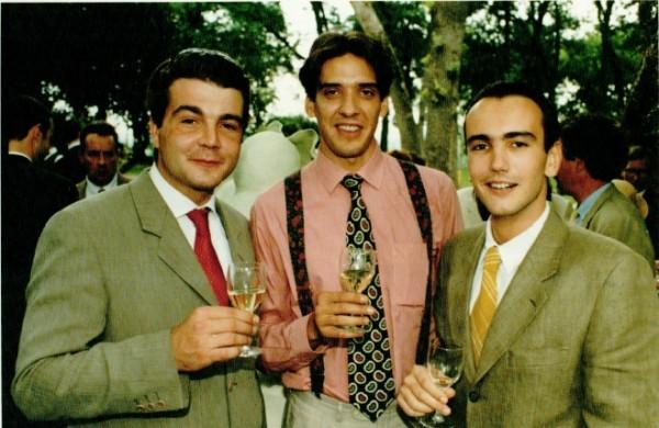 Grégory et François Master CIVS 1994