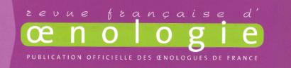 revue française d'oenologie