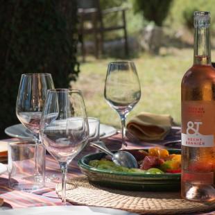 Côtes de Provence Rosé Hecht & Bannier et tomates
