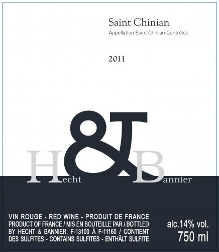 Etiquette Saint Chinian