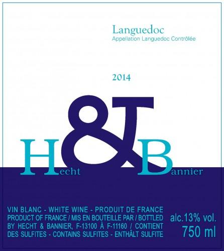 étiquette Languedoc Blanc 14