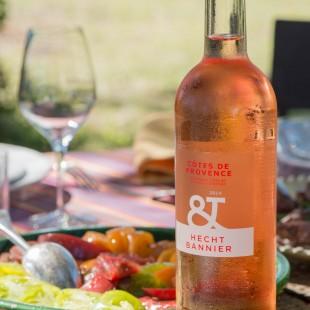 Côtes de Provence Rosé et tomates