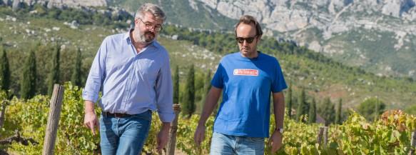 Grégory Hecht et François Bannier