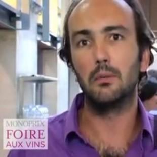 interview gregory hecht – foire aux vins monoprix2011