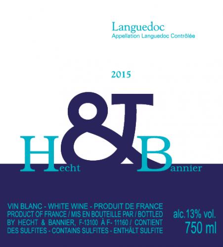 Etiquette Languedoc blanc 2015