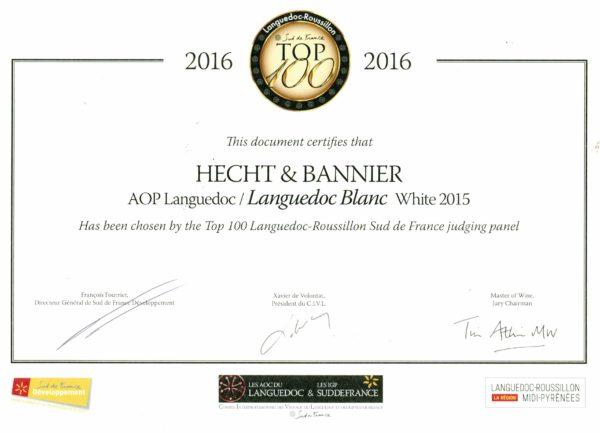 top 100 uk languedoc – roussillon / languedoc blanc2015
