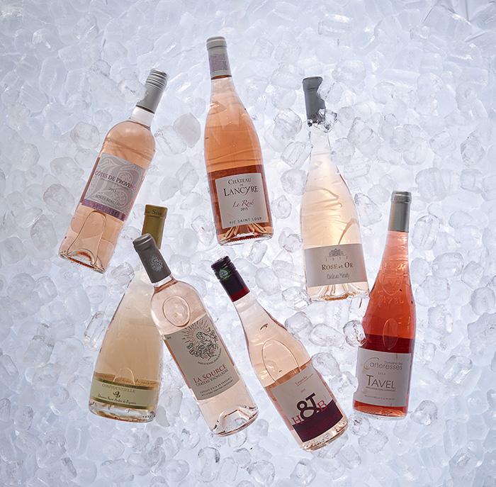 wine enthusiast / languedoc rosé2015