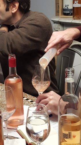 côtes de provence rosé 2016 : first blending session
