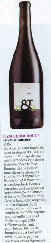 aujourd'hui en france magazine / guide des foires aux vins / languedoc rouge2015