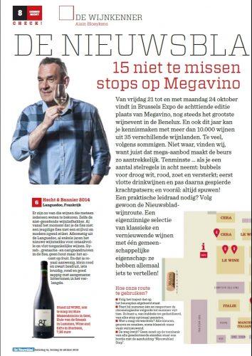 het nieuwsblad / languedoc rouge2014