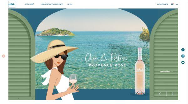 h&b provence, un nouveau siteweb