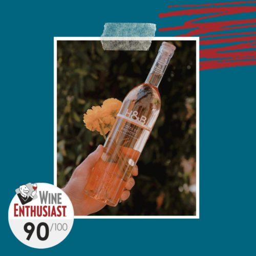 h&b provence rosé 2019 / wine enthusiast
